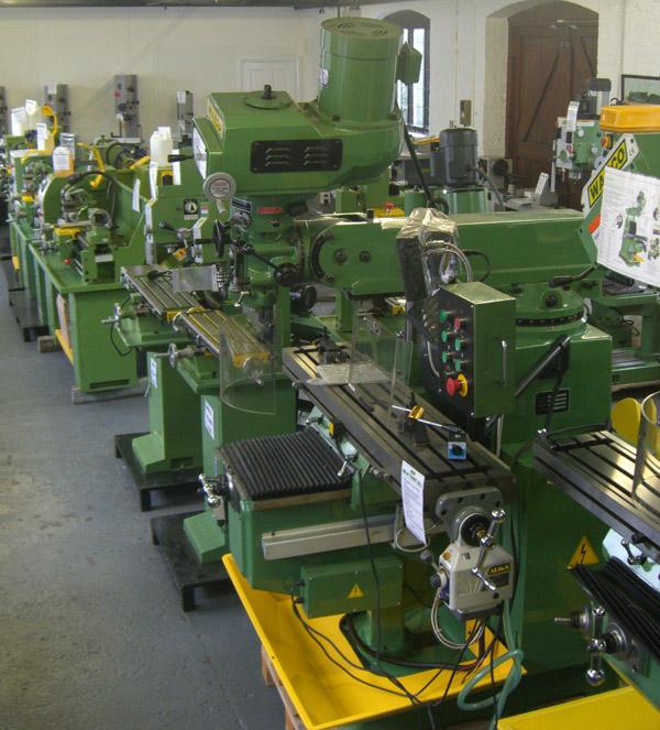 warco milling machines