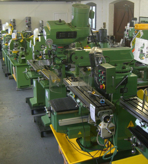 warco milling machines