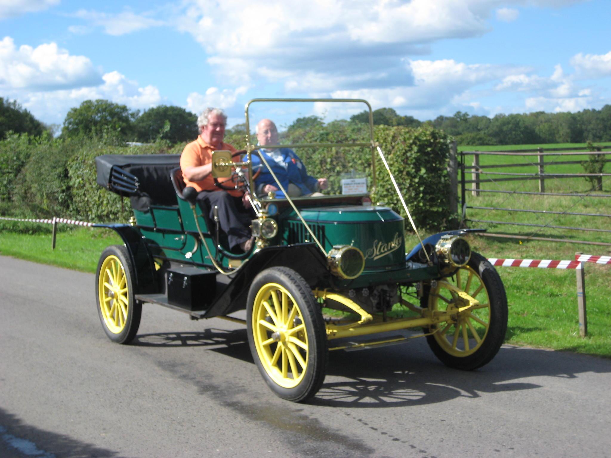 Warco stanley steam car