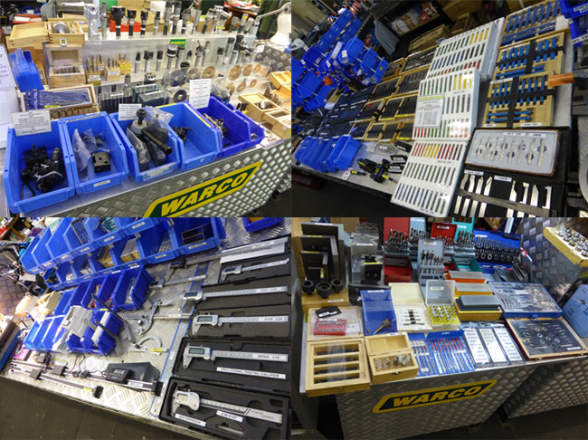 Some of the tools we had for sale on the stand