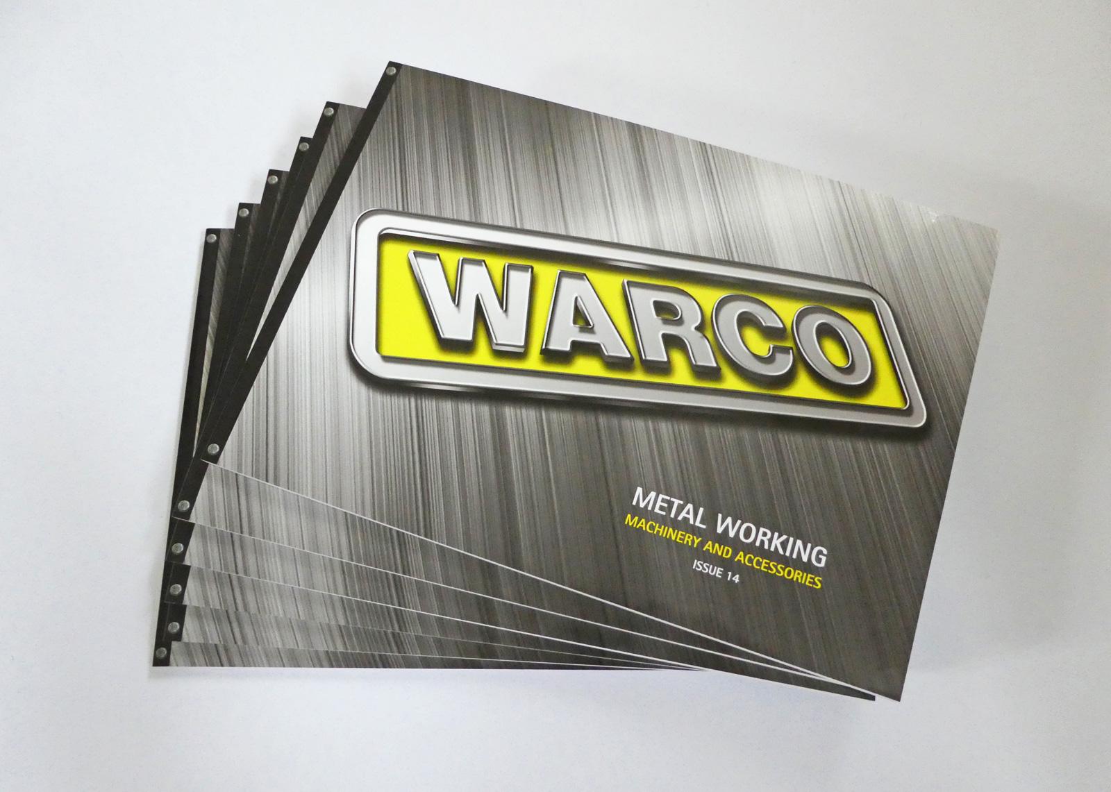 Warco catalogue