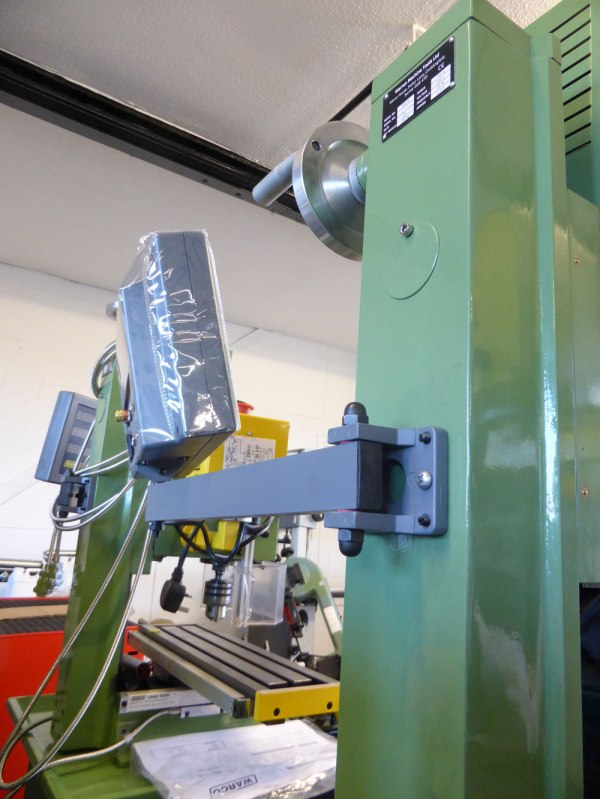 DRO mill mounting bracket.