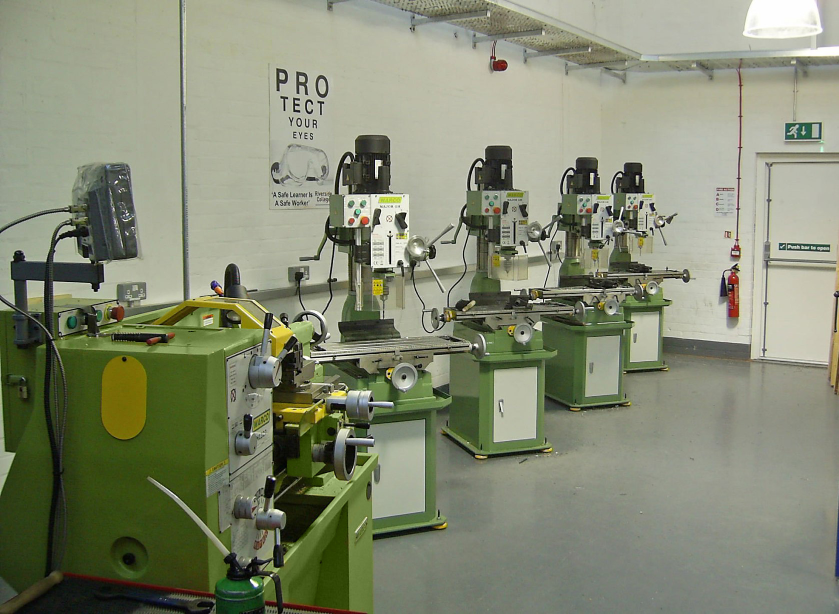 Warco Major GH milling machines